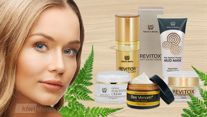 Nature's Beauty New Zealand premium cosmetic range