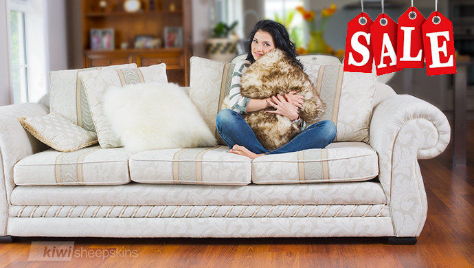 Premium New Zealand sheepskin pillows