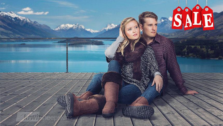Real New Zealand Sheepskin Boots