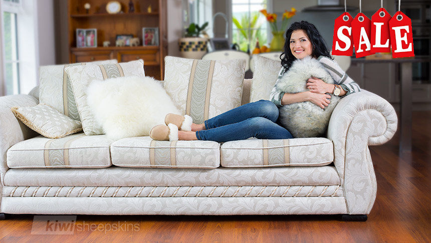 Sheepskin pillows made in New Zealand