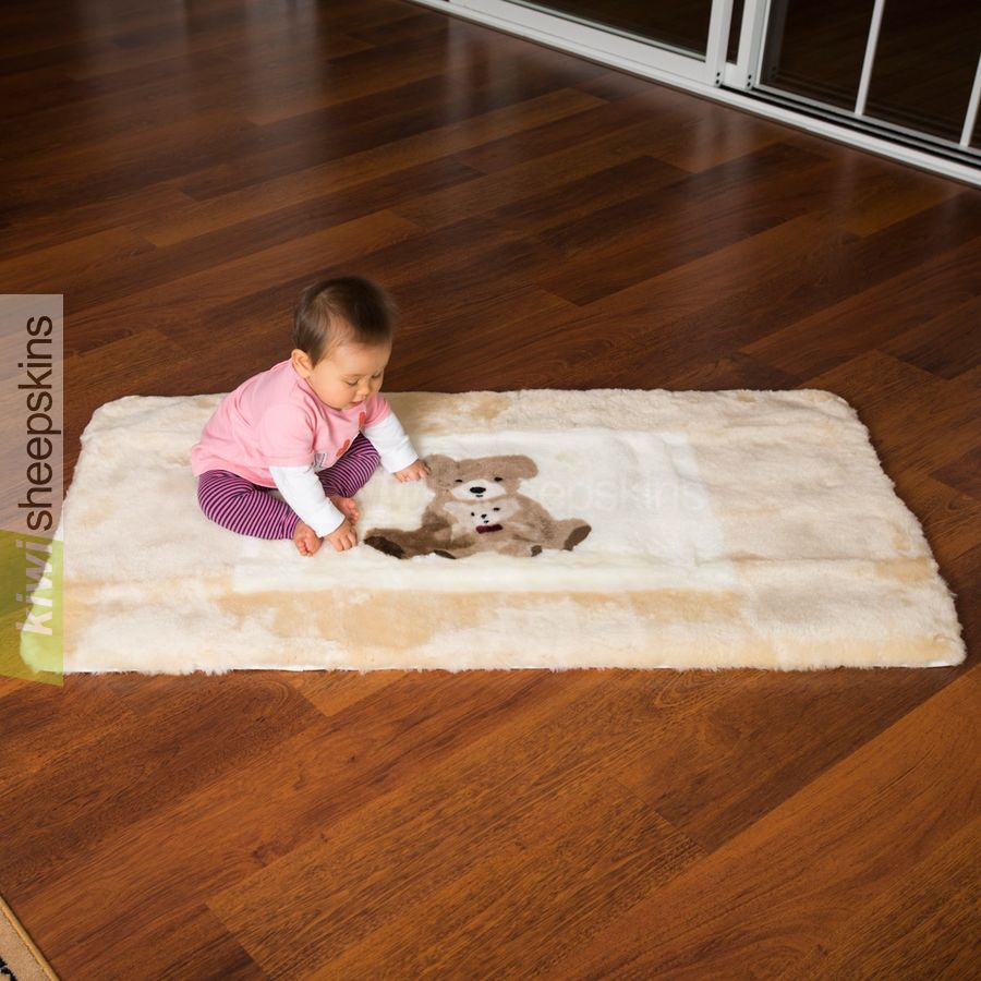 Auskin Large Sheepskin Baby Play Rug