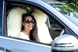 NZ sheepskin car seat covers and accessories