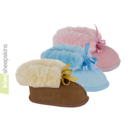 Sheepskin Baby Booties
