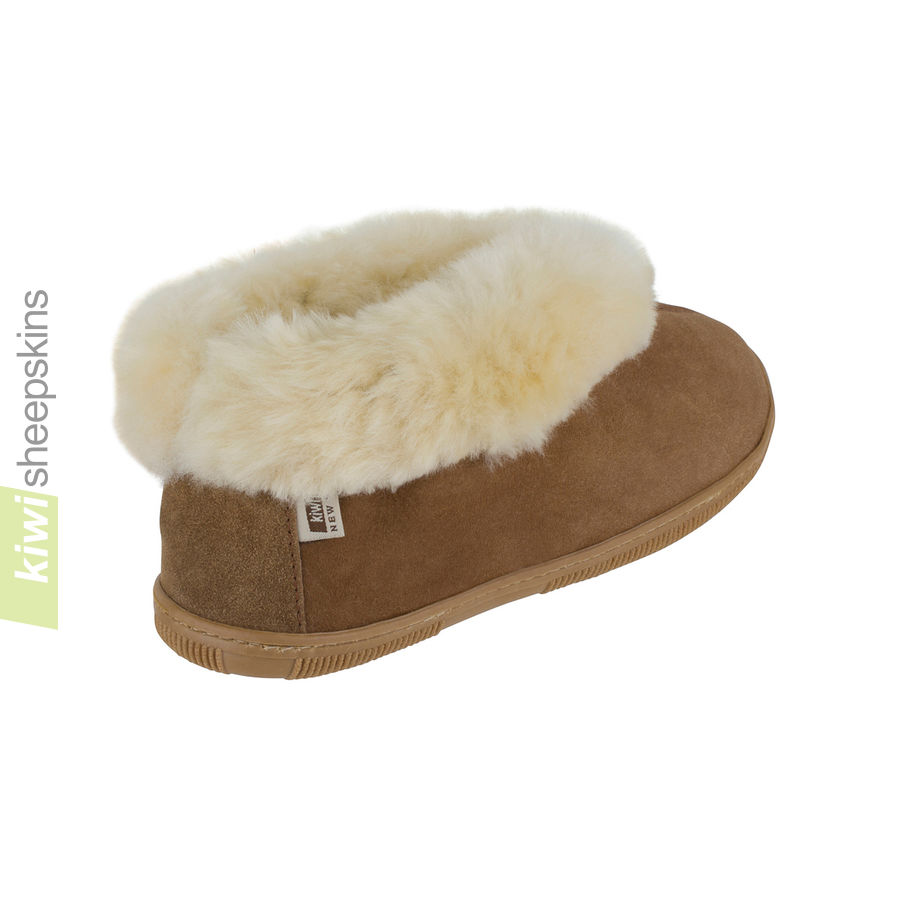 Bootie slippers - Chestnut rear