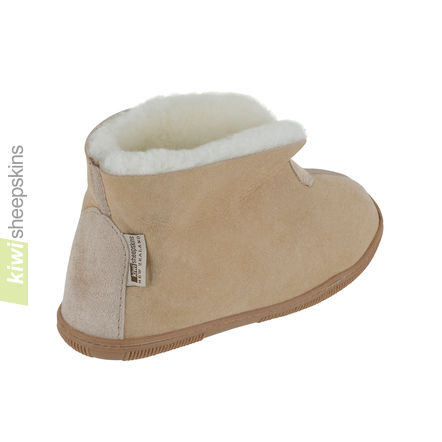Bootie slippers - Sand collar up