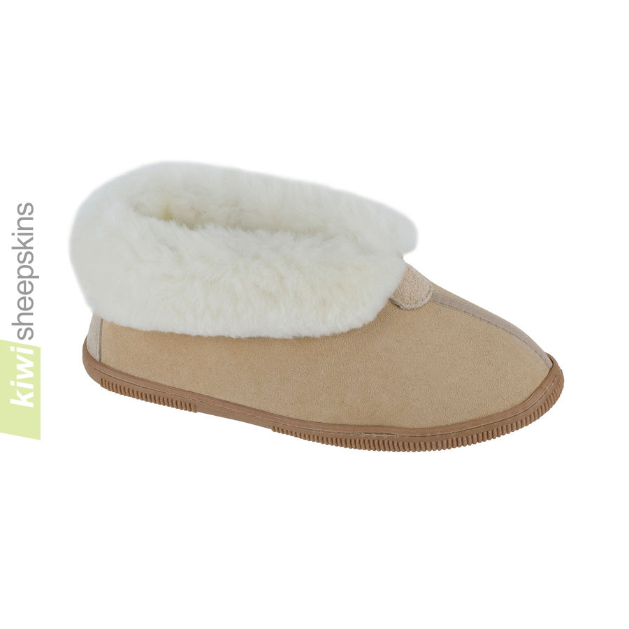 Bootie slippers - Sand color