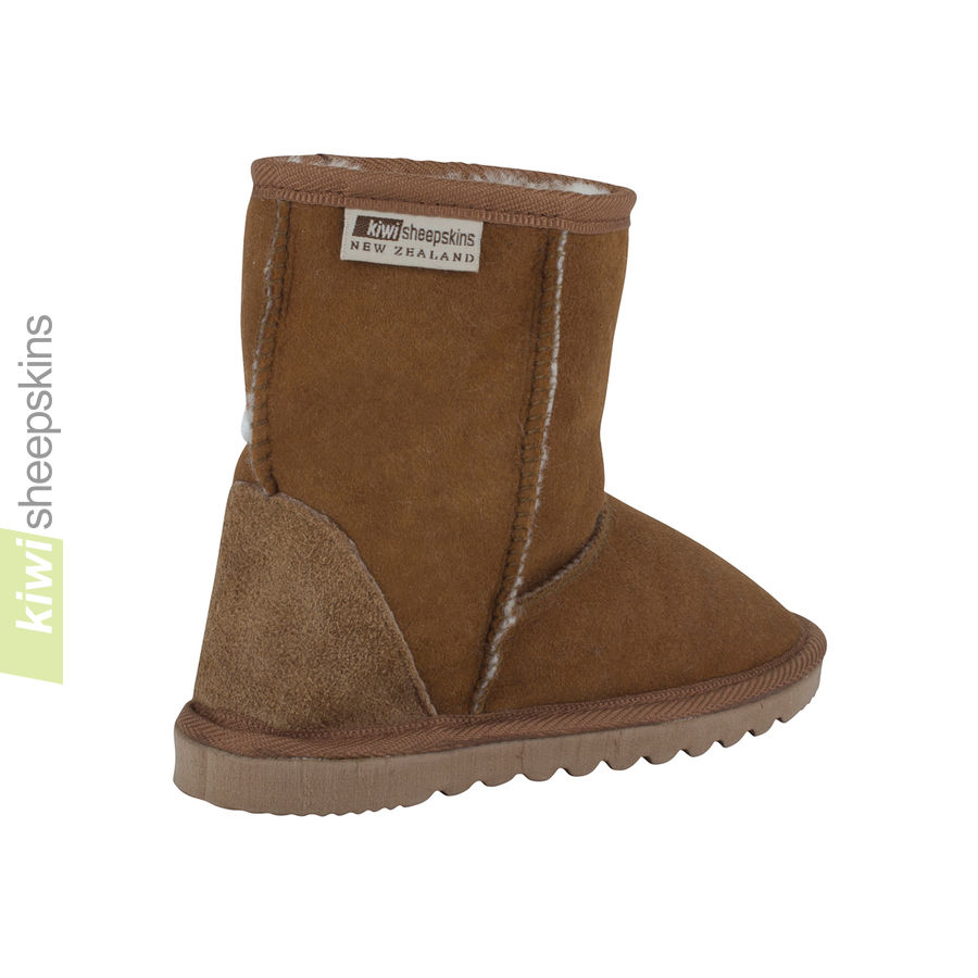 Child Mid Calf - Chestnut rear view
