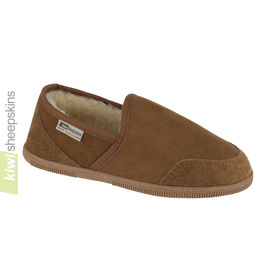 Mens Sheepskin Slippers in a traditional slipper style