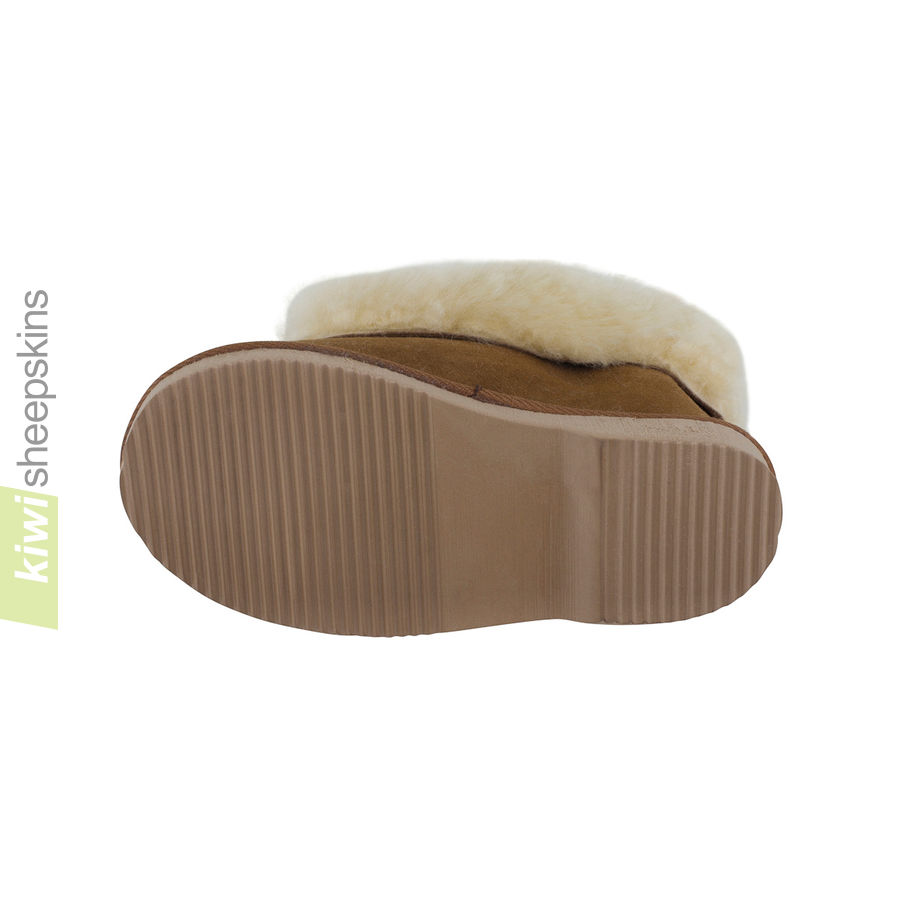 Children's Sheepskin Slippers - EVA sole
