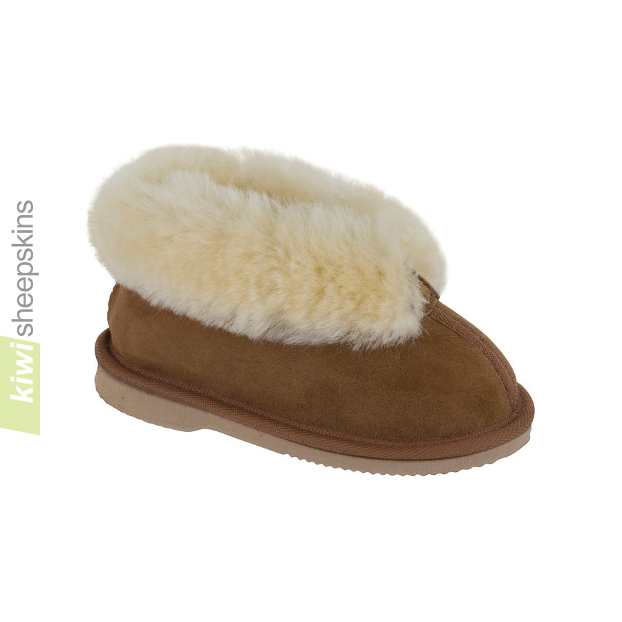 Children's Sheepskin Slippers