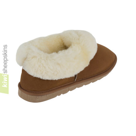 Madison sheepskin slippers - rear