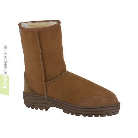 Ultimate mid calf boots - Chestnut color