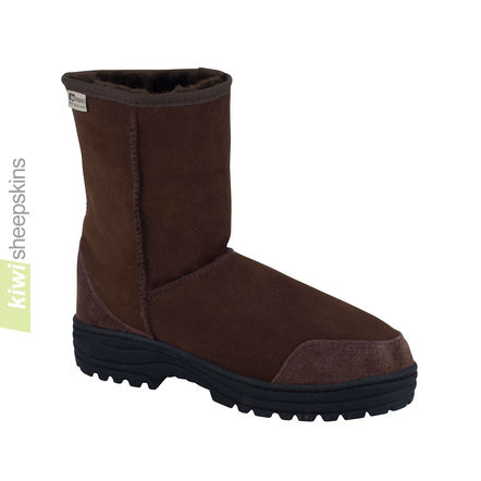 Ultimate mid calf boots - Chocolate color