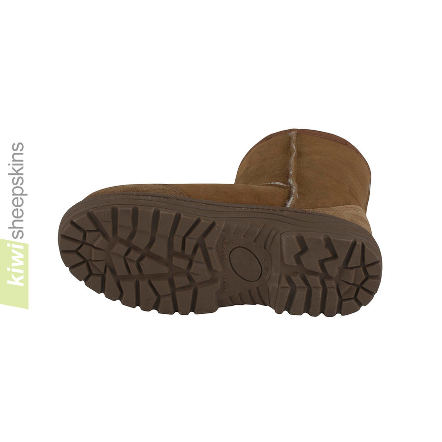 Ultimate sheepskin boots - chunky outdoor sole