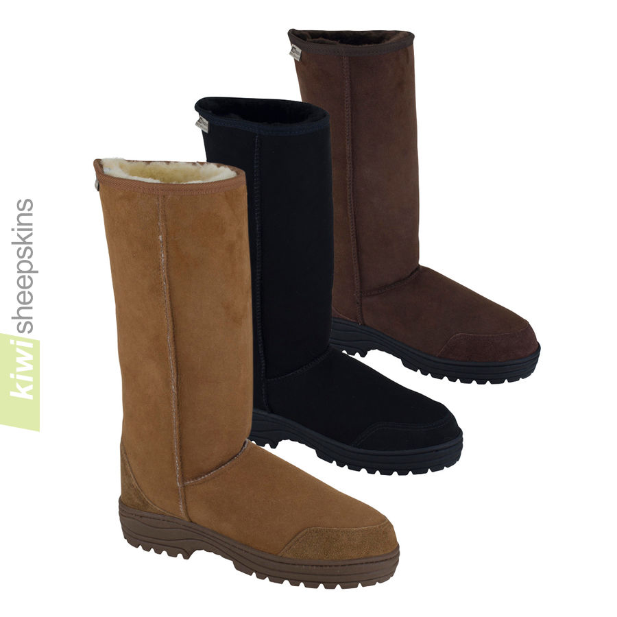 Tall sheepskin boots full calf Ultimate - 3 colors