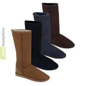 Full calf sheepskin boots - tall Classic EVA