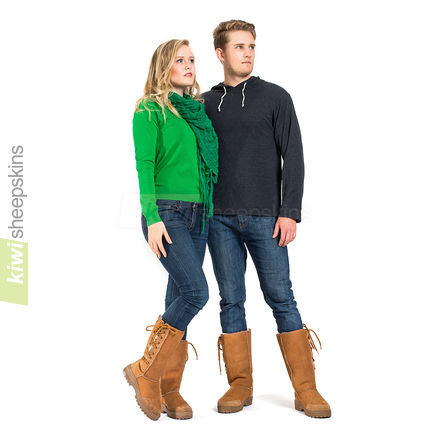 Tall Ultimate laced boots suitable for men and women
