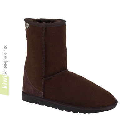 Mid height boot - Chocolate color