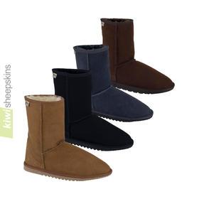 Mid calf height sheepskin boots - Classic EVA