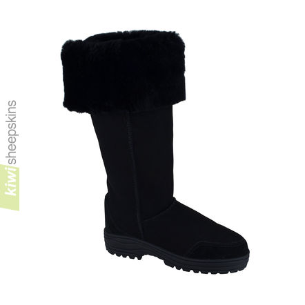 Musketeer boots - Black color