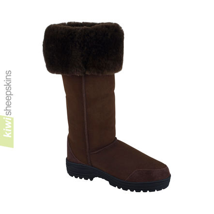 Musketeer boots - Chocolate color