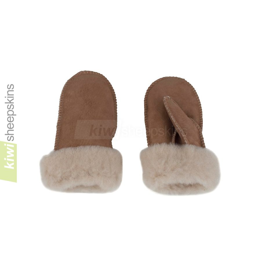 Sheepskin mittens - child sizes