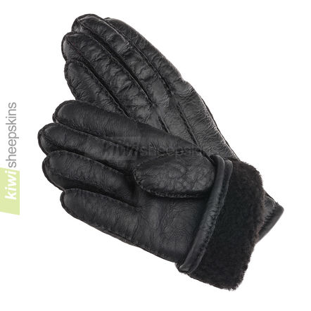Gloves in Black nappa finish