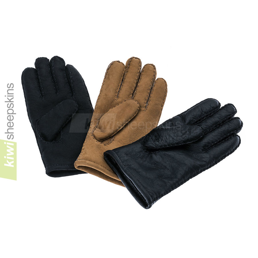 Sheepskin gloves made in New Zealand from baby lambskin