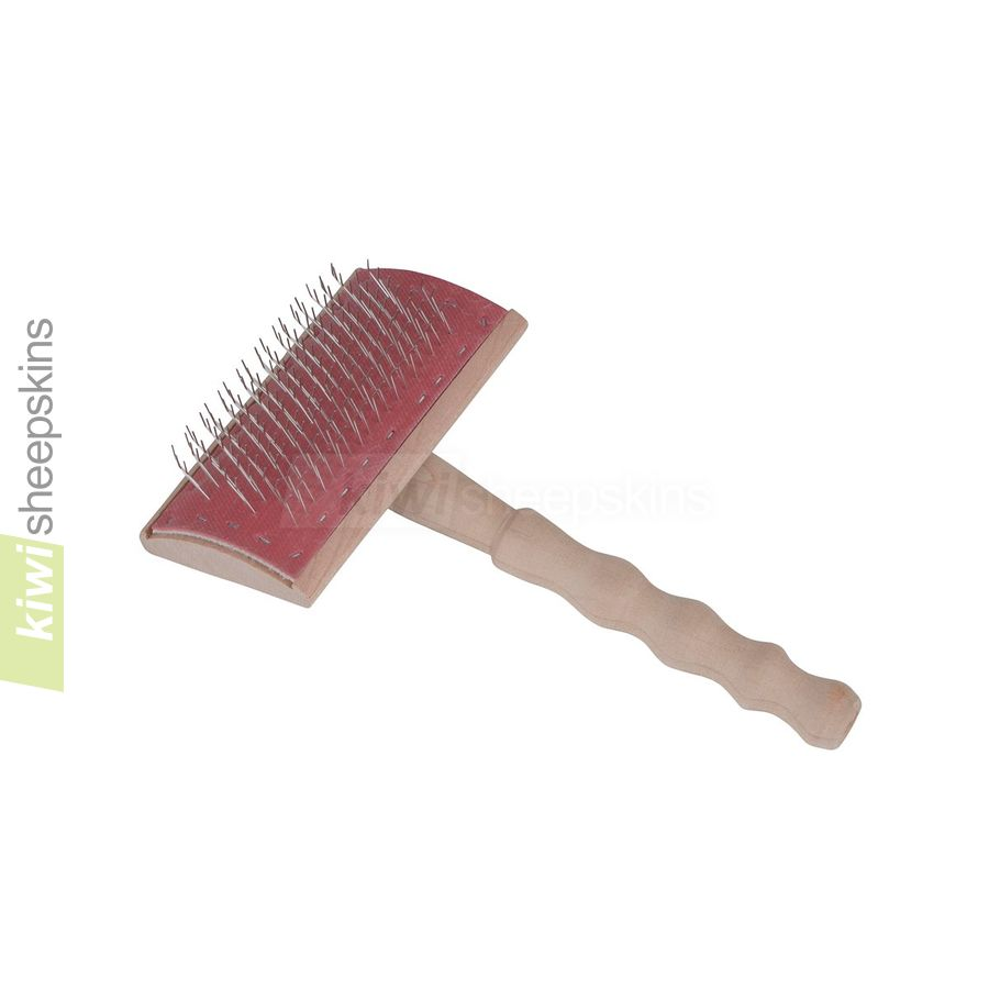 Bowron wire care brush for sheepskins