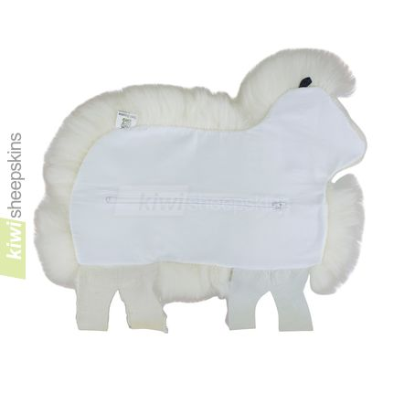 Sheep shape cushion - rear