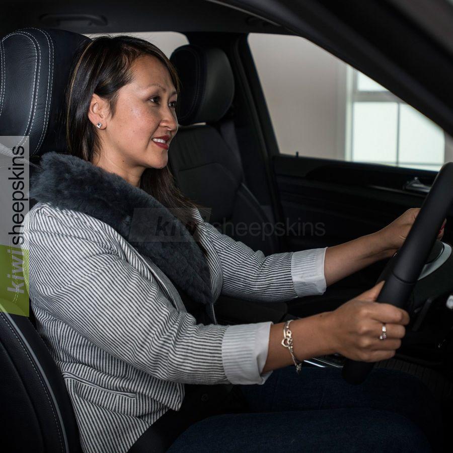 N.z.sheepskin Car Seat Covers Real Sheepskin Seat Be...