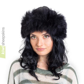 Sheepskin hat - Lara