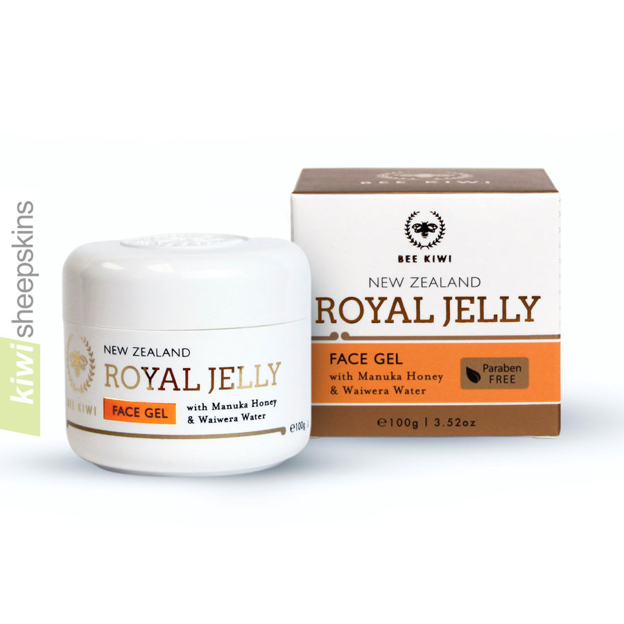Nature's Beauty Bee Kiwi Royal Jelly Face Gel