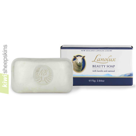 Lanolux Lanolin Beauty Soap with oatmeal