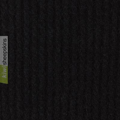 Possum Merino Keyhold Scarf: Black