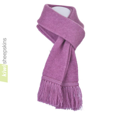 Possum Merino Scarf: Heather