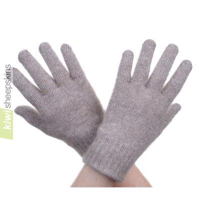 Possum Merino Glove: S, Mocha