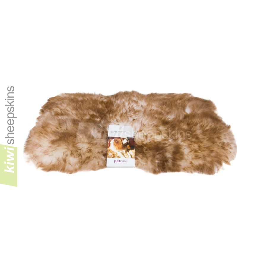Washable Sheepskin Rugs For Dogs: Bowron Sheepskin Pet Pad For Cats & Small Dogs