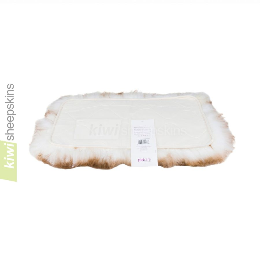 Bowron sheepskin pet pad - reverse