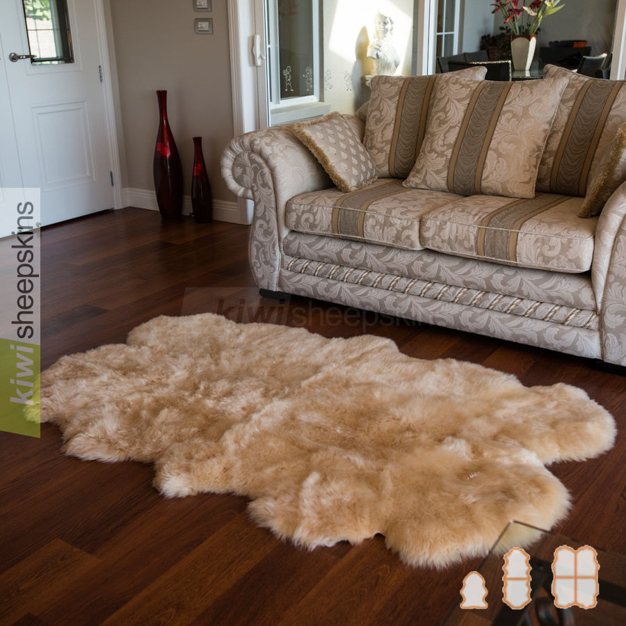 Clic Medium Spring Lamb Sheepskin Rugs
