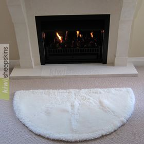 Sunrise sheepskin rug